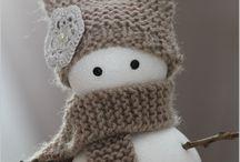 petits bonhommes de neige