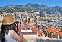 Monako, Lazurowe Wybrzeże! / Niewielkie miasto-państwo pełne kasyn, luksusowych samochodów, drogich apartamentów i hoteli zachwyca wyjątkową atmosferą i pięknymi, nadmorskimi krajobrazami:  https://eurocamp.pl/miejsca-warte-odwiedzenia/francja/monako-lazurowe-wybrzeze-francja