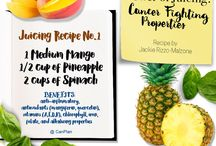 Anti-Cancer Juicing Recipes / Juicing is the most efficient way to get the nutrients you need to fight cancer naturally. Take advantage of these recipes we've put together to help you juice the right way.