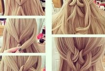Hair / Beautiful wedding hairstyles, balayage hair, mermaid updo's and casual curls.