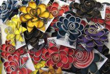Vetoketjukkoruja / Zipper jewelry and accessories