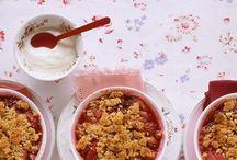 Rhubarb...oj..sour