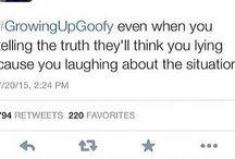 Growing up goofy