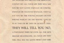 Inspiring Words / by Sandra Keros