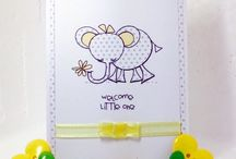 My cards using Pink Petticoat Printables