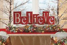 vánoční dekorace