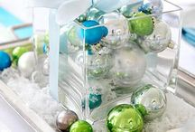 Christmas Table Centerpiece Ideas / by Gina Gary