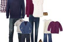 Čo si obliecť na fotenie / Ako sa zladiť na rodinné fotenie, tipy na výber oblečenia a ako ho farebne zladiť.