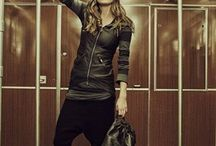 urban style by #AS98 / Woman fasion: genuine leather bag and shoes