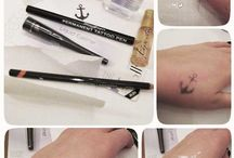 Tattoo  / How to make a temporary tattoo at home by yourself