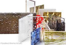 Design kunststoffen / PyraSied Xtreme Acrylic heeft het breedste aanbod aan design kunststoffen in heel Nederland. Naast de beste materialen bieden wij u namelijk ook graag de nieuwste materialen. PyraSied ontwikkelt en ontdekt continu nieuwe design kunststoffen.
