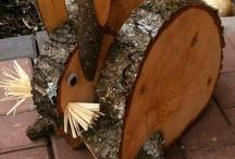 Drewno dekoracje