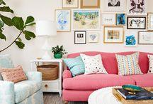COLORFUL HOME DECOR / #déco #colorée #couleurs #home #decor #colorful #colored #design #arty