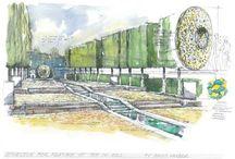 Bespoke garden design drawings