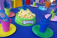 Sloan and Tatums joined Paw Patrol Birthday Party