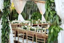 Green and leafy weddings
