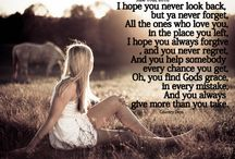 Lyrics / by Amber Long