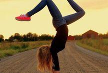 Yoga and Handbalancing