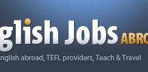 English Jobs Abroad / We are the job portal dealing exclusively with ESL jobs across the world. As the name suggests, we help ESL teachers wishing to take up teaching English jobs abroad and more.