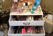 Vanity & makeup organization / by Bud W