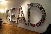 Creative bookshelves / Moderní pojetí knihoven