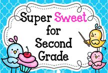 Super Sweet for 2nd Grade! / This is a collaborative board for teachers to Pin resources, products and ideas that are super sweet for second grade!  Email Jeannine at creativelessoncafe@gmail.com to Pin here!