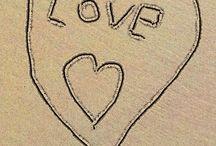 Strand hart maken