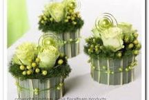 (kleine)bloemstukjes