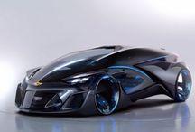 Sci fi car