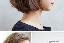 Cabelo curto penteados