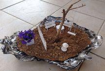 Miniature garden / Miniature garden