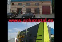 fachada metalica / Revestimiento de fachada