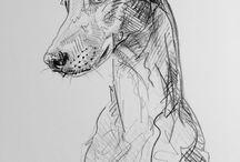 Creion/liner/schițe