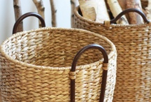 || Natural Fiber || / Stylish and sustainable organizational solutions for every room in your home.