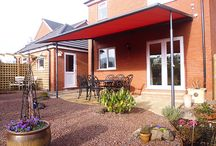 All Weather Awnings / All Weather Awnings for protection in a variety of different weather conditions ranging from the bright hot sun, cold rain showers, strong windy conditions or even snow!