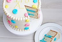 Decorating: Cakes: Gender Reveal / by Jill Radke