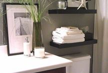 Bathroom ideas / Towels shelf