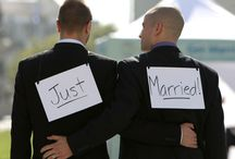 Gay Weddings / Discover all of your gay wedding inspiration here. This serves the LGBTQ community in finding perfect wedding ideas, tips and tricks when planning their gay wedding.