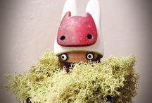 """Masks - Tiny Fellow"" Figurine (2015)"