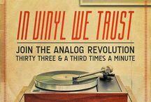 Vinyl Records & Beer - Graphic Art