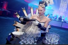 Black & White Event Themes / A classic theme, good for any event or party. Top hats and Tails at Instinct Events.