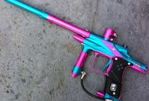 Paintball pink