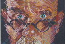 Chuck Close-Painting