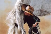 horse & child