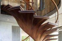 Лестницы / Идеи для деревянных и не только лестниц. Элементы лестничного декора и резьбы