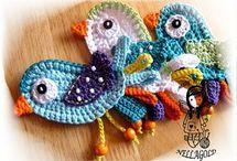 Aplicações crochet