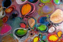 Mary Ann Wakeley paintings / Abstract art / by Amy Anderson