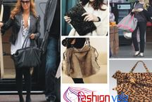 Handbags / A handbag, also purse, or pouch in American English, is a handled medium-to-large bag that is often fashionably designed, typically used by women, to hold personal items.  For More about Handbags visit Fashion World at: http://www.fashionvela.com/category/hand-bags/