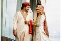 Bride groom suits