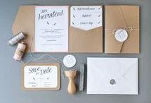 Einladung/Danke Hochzeit